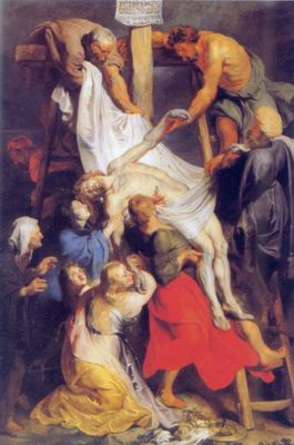 Descent from the Cross painting, a Peter Paul Rubens paintings reproduction, we never sell Descent