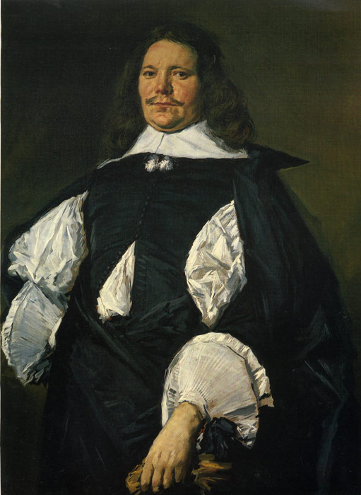 Oil Painting Reproduction of Frans Hals - Portrait of a Man