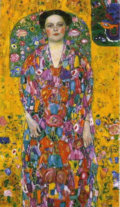 Oil Painting Reproduction of Klimt- Portrait of a Lady