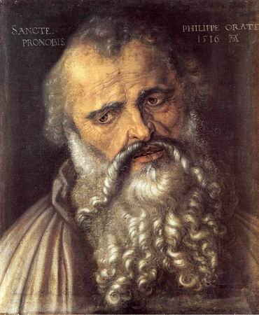 Apostle Philip painting, a Albrecht D??rer paintings reproduction