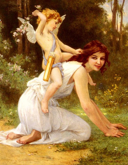 Bouguereau Oil Painting Reproductions - The Dance