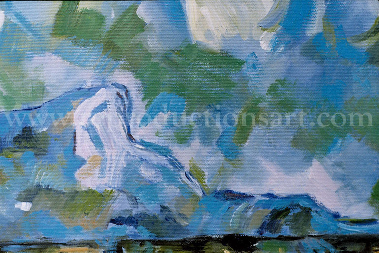 Fromentin Oil Painting Reproductions- Horses Watering in a River
