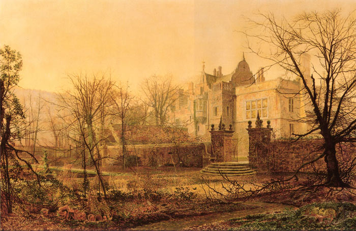 Grimshaw Oil Painting Reproductions - Knostrop Hall