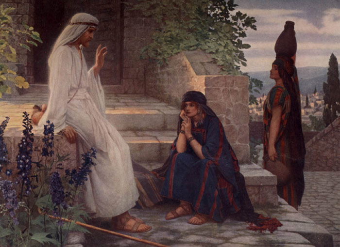 Herbert Gustave Schmalz Oil Painting Reproductions- Home of Bethany