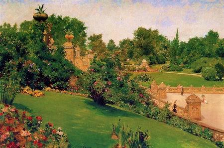 June - Easthampton painting, a Thomas Moran paintings reproduction, we never sell June - Easthampton