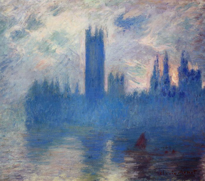 Monet Oil Painting Reproductions - Houses of Parliament Westminster