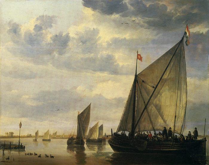 Oil Painting Reproduction of Cuyp- River Scene