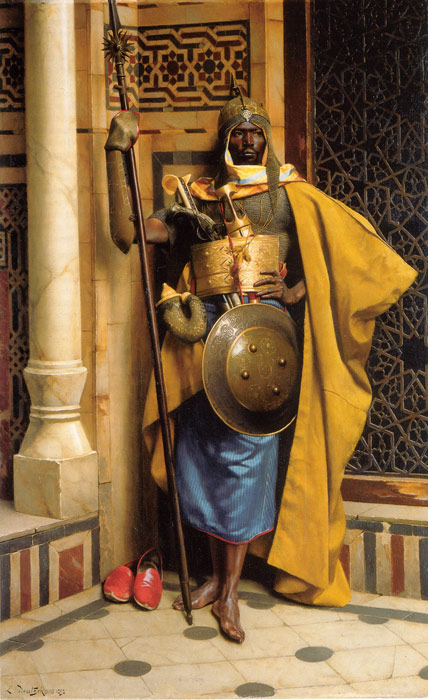 Oil Painting Reproduction of Deutsch- The Palace Guard