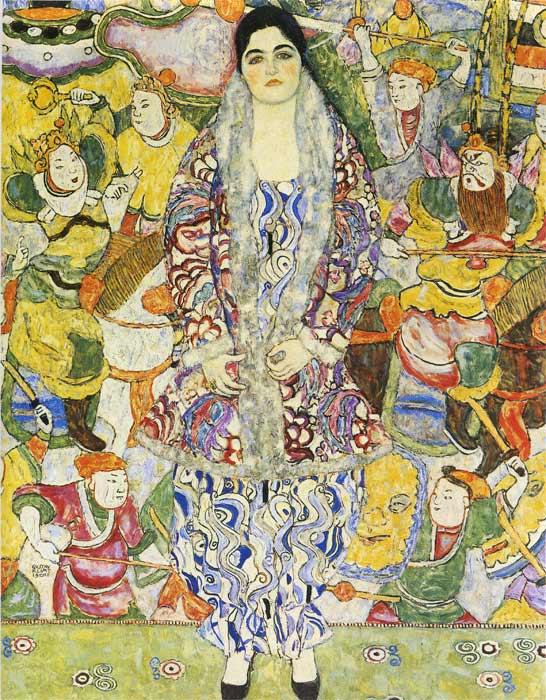 Oil Painting Reproduction of Klimt- Portrait