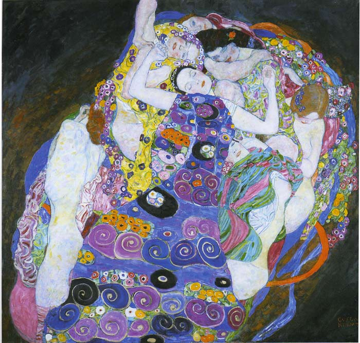 Oil Painting Reproduction of Klimt- The Virgin