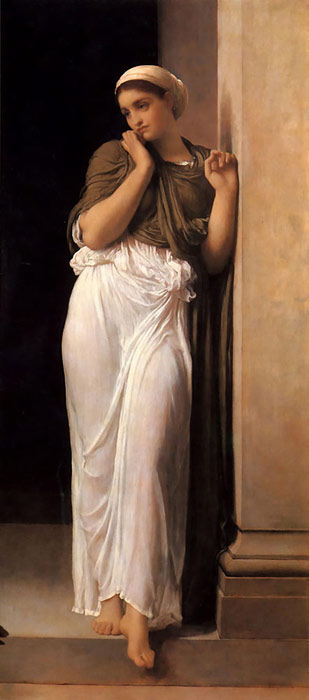 Oil Painting Reproduction of Leighton- Nausicaa