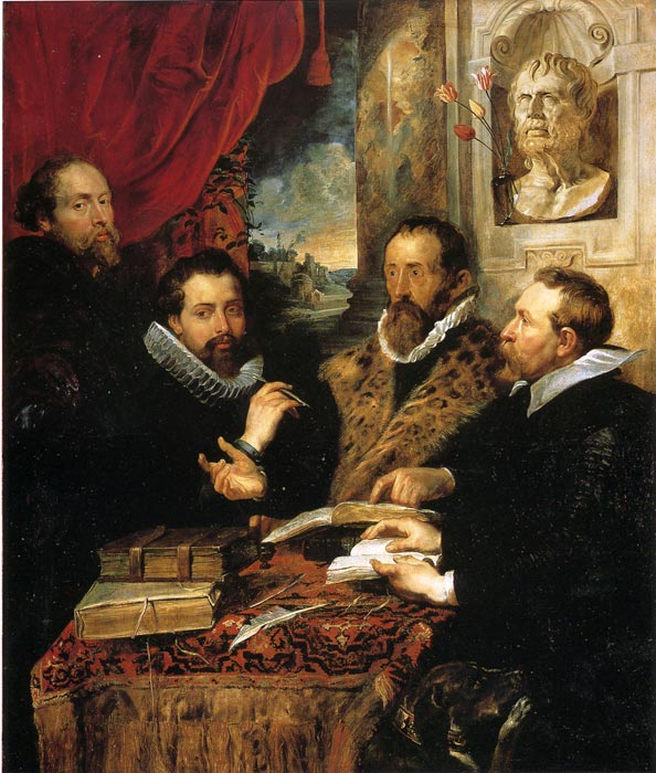 Oil Painting Reproduction of Rubens- Four Philosophers