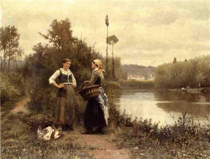 Oil Painting Reproduction of Winterhalter- Helene Louise Elizabeth de Mecklembourg Schwerin, Duchess