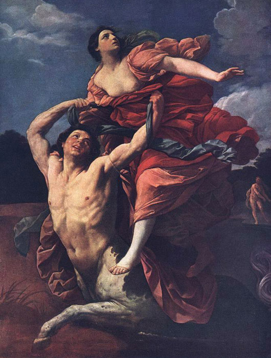 Reni Oil Painting Reproductions - The Rape of Dejanira