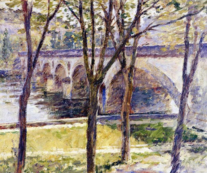 Robinson Oil Painting Reproductions - Bridge near Giverny