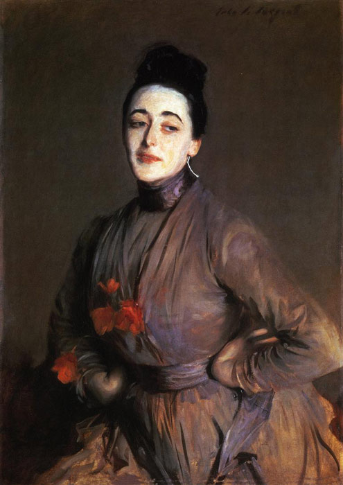 Sargent Oil Painting Reproductions - Flora Priestley
