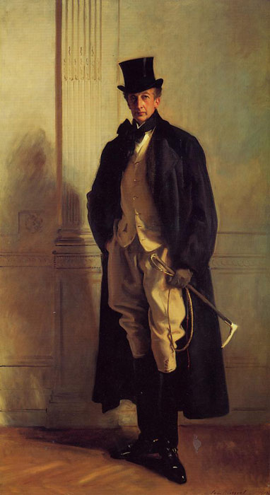 Sargent Oil Painting Reproductions - Lord Ribblesdale