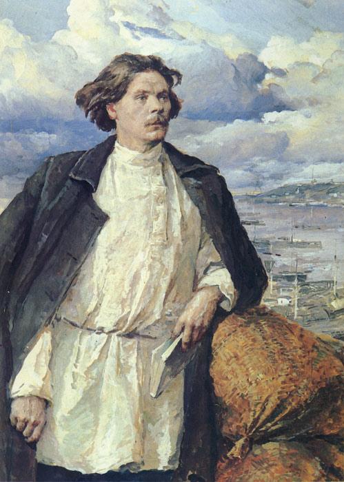 Serov Oil Painting Reproductions- Gorki on the Volga River