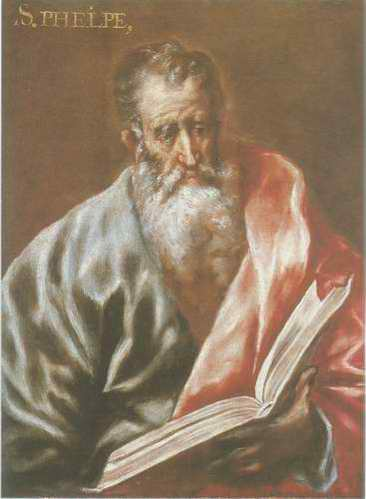 St. Phelpe painting, a El Greco paintings reproduction, we never sell St. Phelpe poster