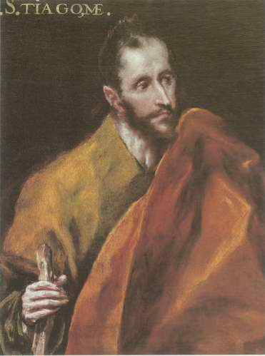 St. Stiagome painting, a El Greco paintings reproduction, we never sell St. Stiagome poster