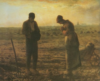 The Angelus,LAngelus painting, a Jea Francois Millet paintings reproduction, we never sell The