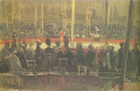 The Circus painting, a Walter Richard Sickert paintings reproduction, we never sell The Circus