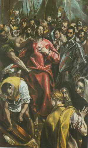 The Despoiling of Christ painting, a El Greco paintings reproduction, we never sell The Despoiling