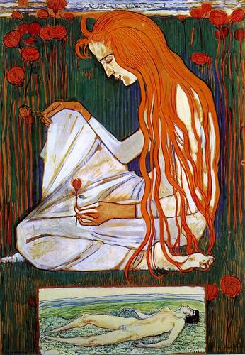 The Dream painting, a Ferdinand Hodler paintings reproduction, we never sell The Dream poster
