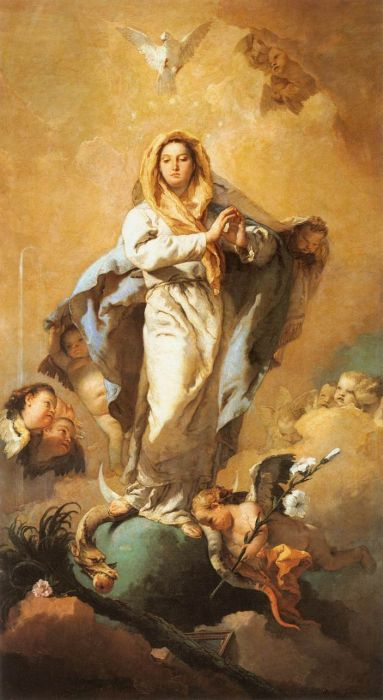 Tiepolo Reproductions - The Immaculate Conception