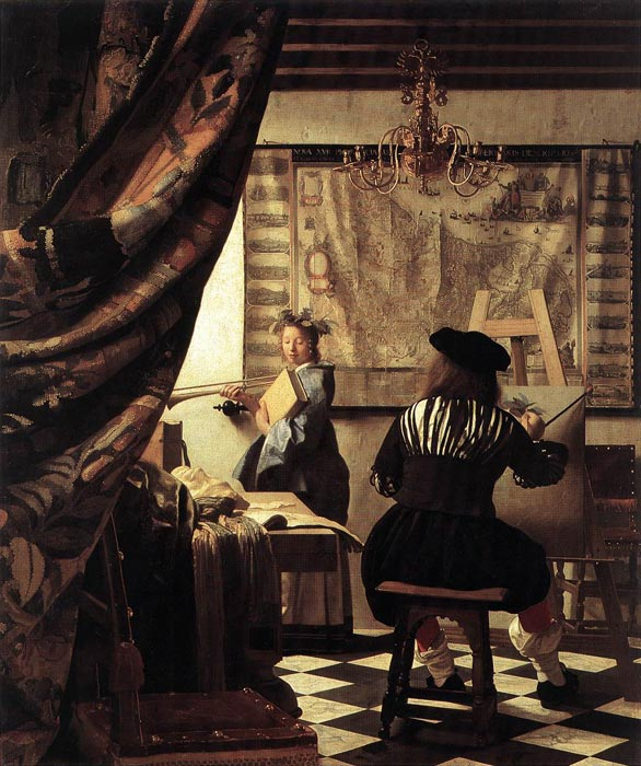 Vermeer Oil Painting Reproductions- The Art of Painting