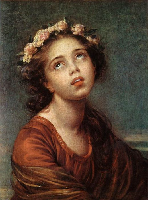 Vigee Lebrun Reproductions - The Daughters Portrait