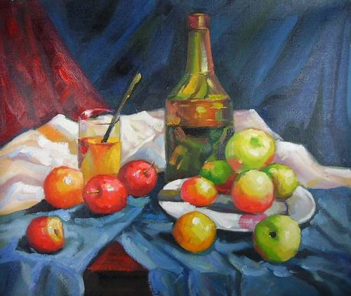 apples and wine painting, a canvaz team paintings reproduction, we never sell apples and wine poster