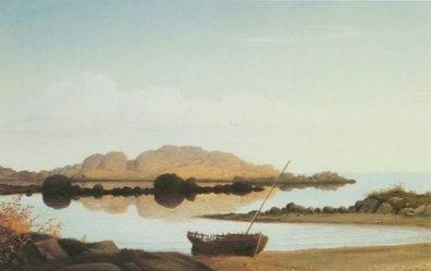braces Rock, Braces Cove painting, a Fitz Hugh Lane paintings reproduction, we never sell braces