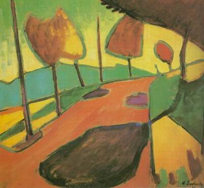 country landscape paintings painting, a Alexe Jawlensky paintings reproduction, we never sell