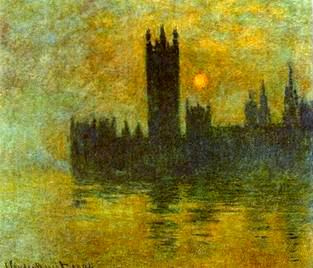 House of Parliament,Sunset,1900-1901 painting, a Claude Monet paintings reproduction, we never sell