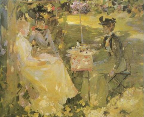 Midsummer painting, a James Guthrie paintings reproduction, we never sell Midsummer poster