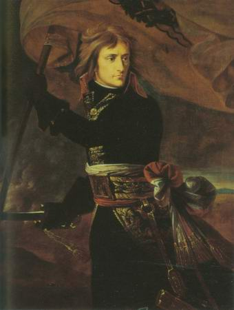 Bonaparte on the Bridge of Arcole painting, a Baron Gros paintings reproduction, we never sell