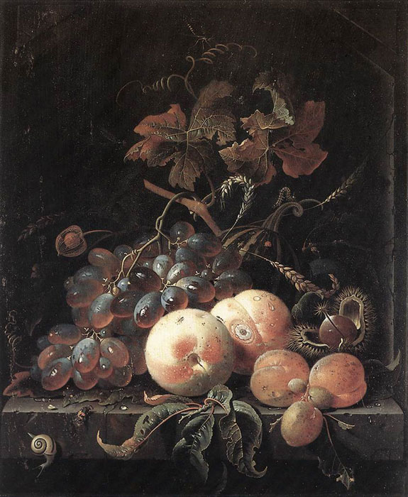 Oil Painting Reproduction of Mignon- Still-Life with Fruits