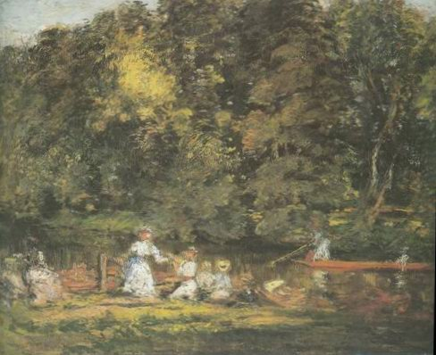 The Embarkment painting, a Philip Wilson Steer paintings reproduction, we never sell The Embarkment