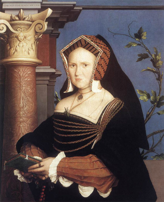 Holbein Oil Painting Reproductions- Portrait of Lady Mary Guildford