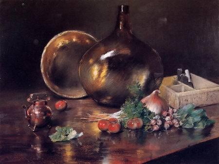 a still life oil painting