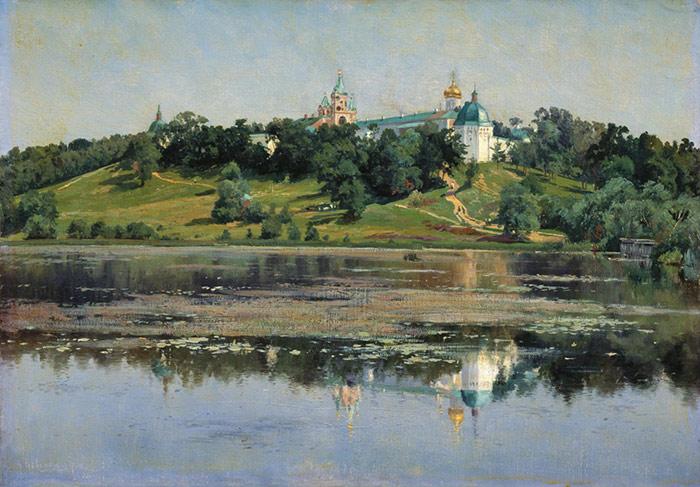 Oil Painting Reproduction of Kryzhitskii - Zvenigorod
