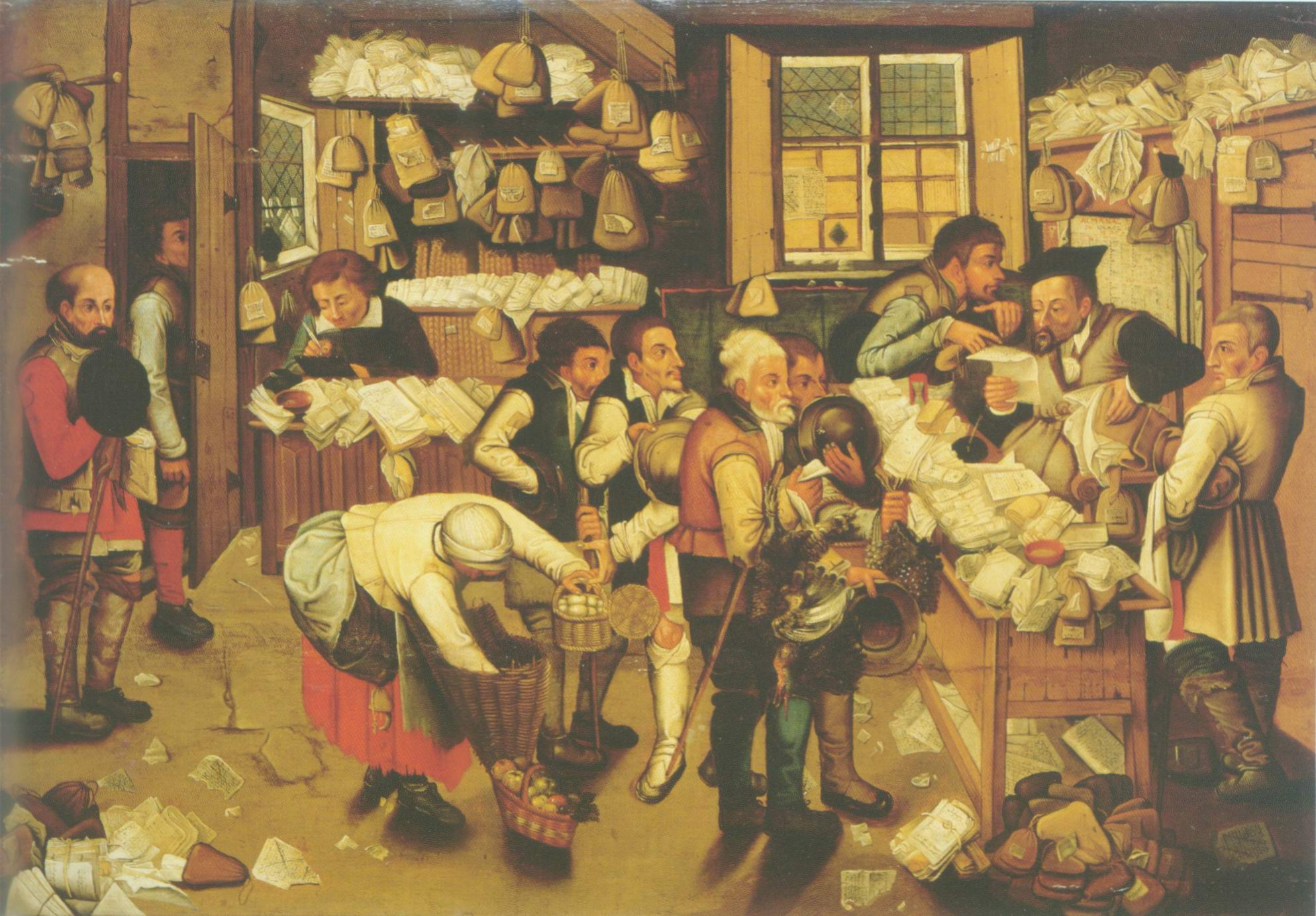 the payment of tithes painting, a Pieter grueghel II paintings reproduction, we never sell the