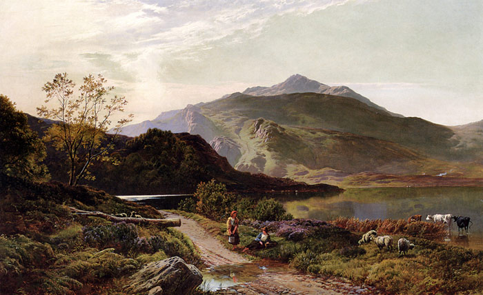 A classic Landscape, Richmond painting, a Philip Wilson Steer paintings reproduction, we never sell