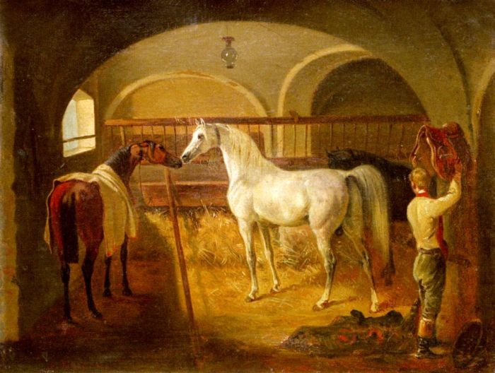 Agasse Reproductions - Inside the Stable