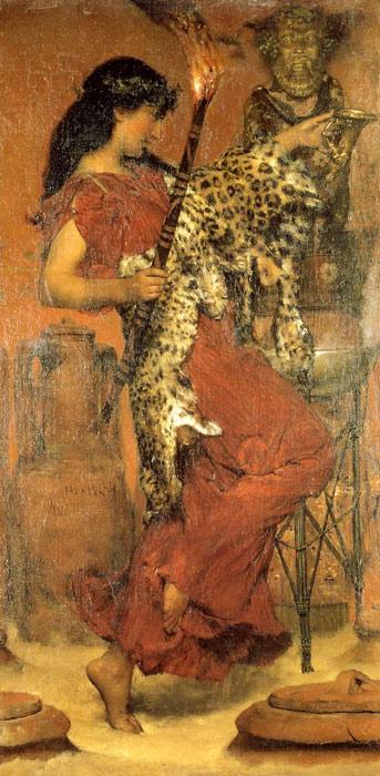 Alma-Tadema Oil Painting Reproductions -Autumn: Vintage Festival