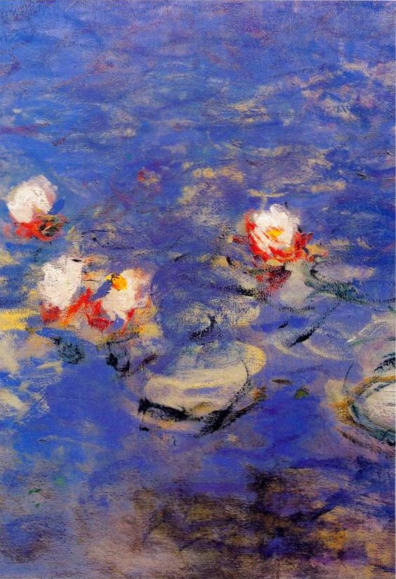 Blue Water Lilies painting, a Claude Monet paintings reproduction, we never sell Blue Water Lilies