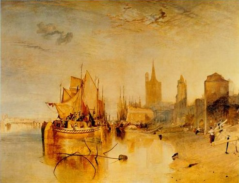 Cologne painting, a Joseph Mallord William Turner paintings reproduction, we never sell Cologne