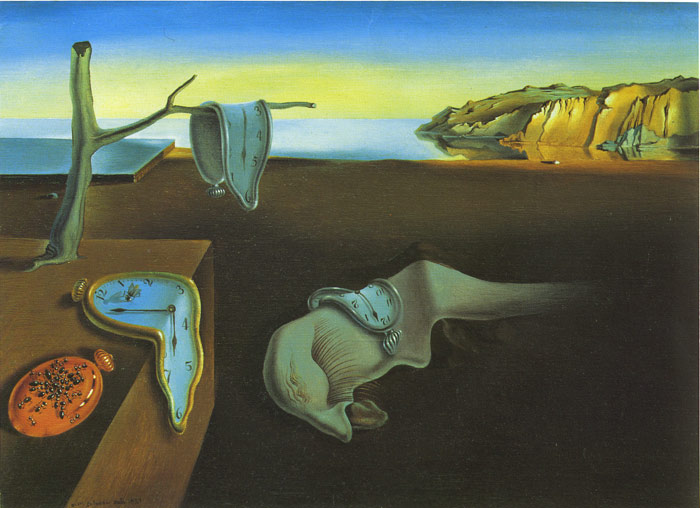 Dali Oil Painting Reproductions- The Persistence of Memory