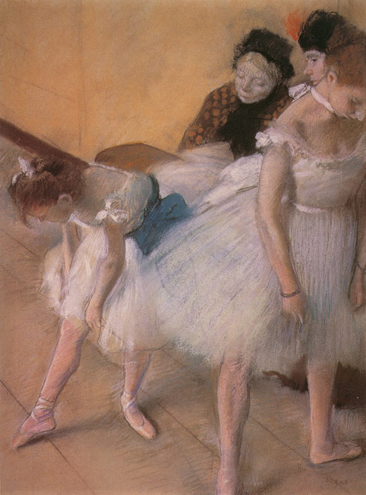 Degas Oil Painting Reproductions- Before the Rehearsal